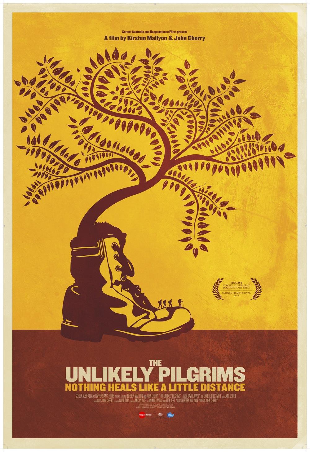 "Official Film Poster ""The Unlikely Pilgrims"" @ Sydney Film Festival"