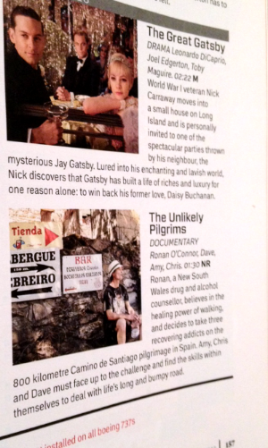 In good company...!  Virgin Australia's Voyeur Magazine, Sept 2013