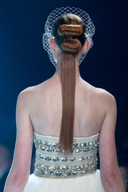 Beatrice Swarovski crystal bridal birdcage veil