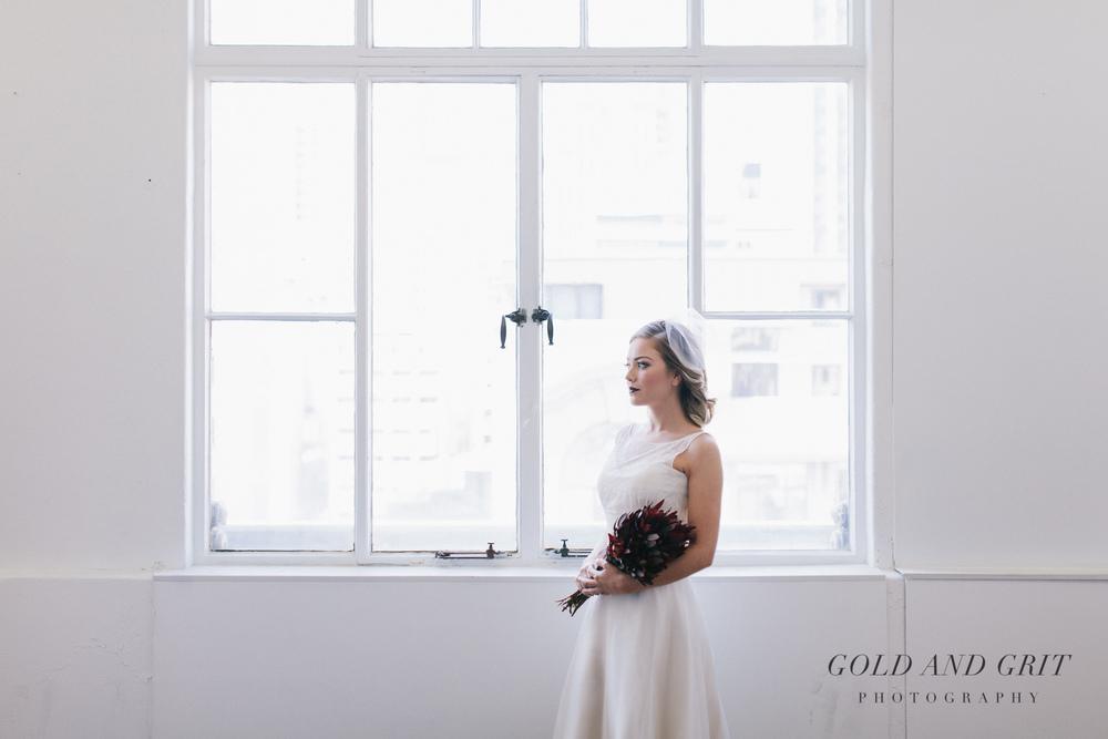 Adelaide diamante blusher wedding veil