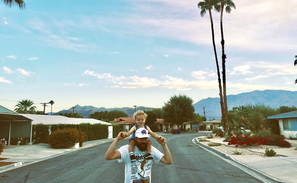 Desert boyz – Palm Springs, Calif. 🌴 🌵