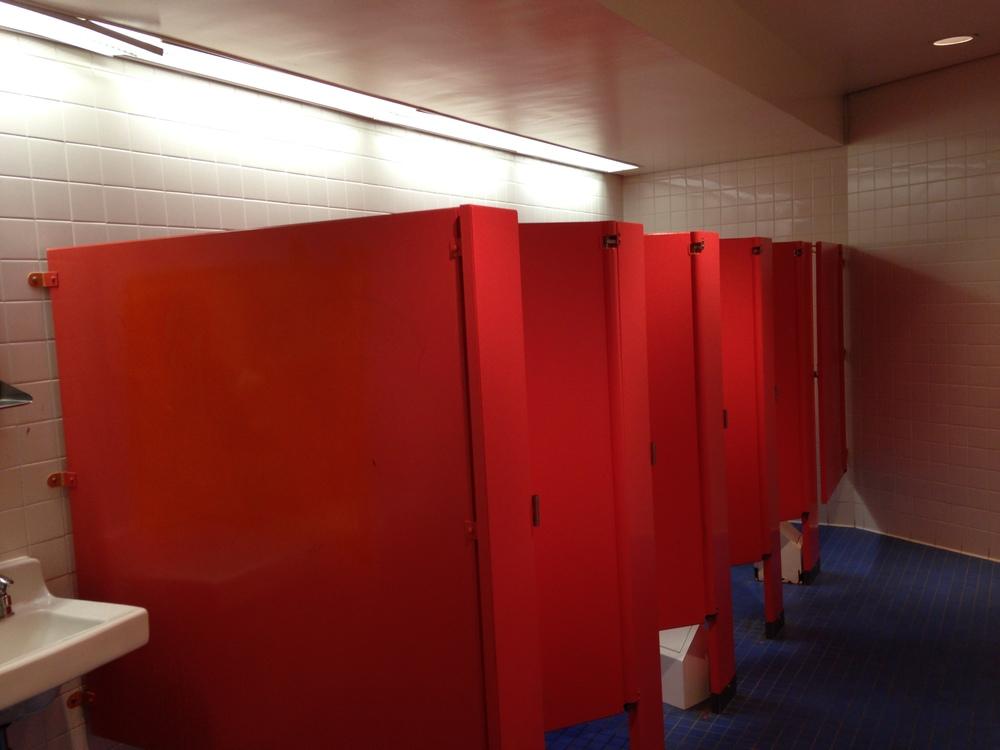 Girls' restroom.