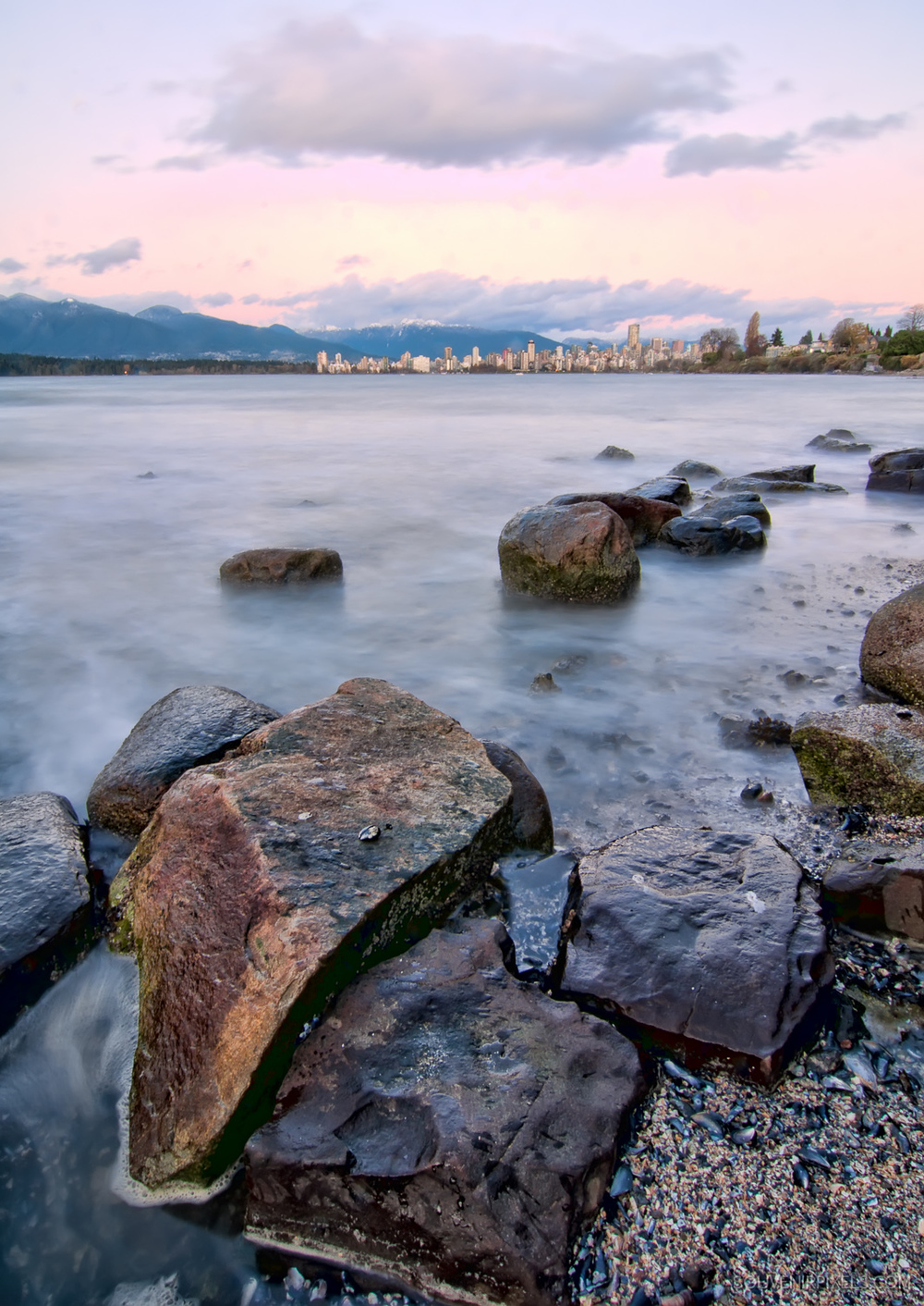 P0238-Rocks Large in Foreground with Vancouver Skyline-XLarge.jpg