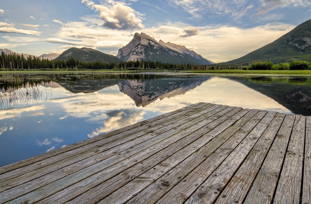 P0342-Vermilion Lakes Dock Side-XLarge.jpg