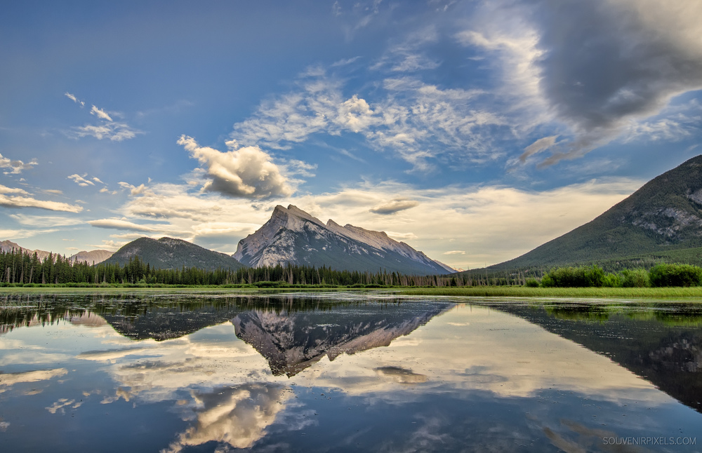 P0341-Vermilion Lakes Perfect Reflection-XLarge.jpg