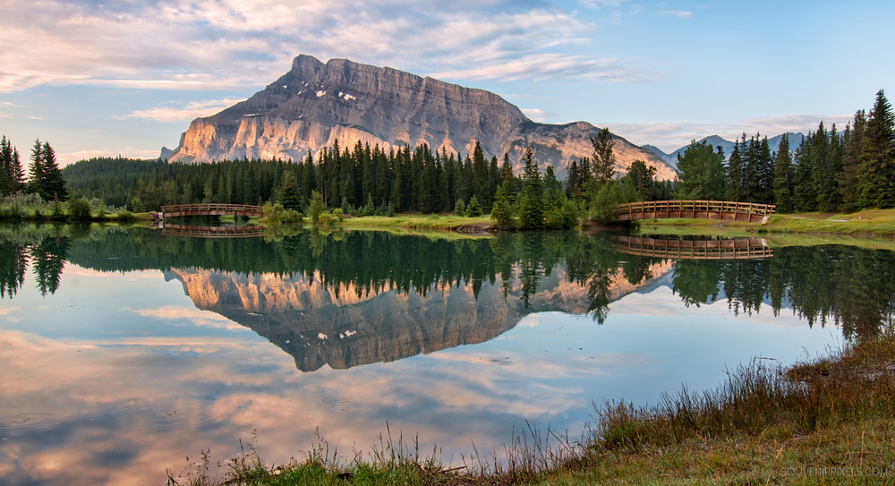 P0327-Rundle Mountain Reflection-XLarge.jpg
