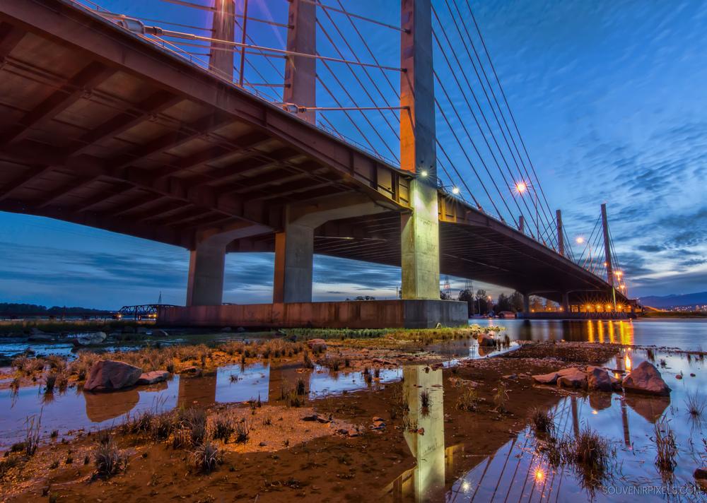 P0495-Pitt River Bridge at Night-XLarge.jpg