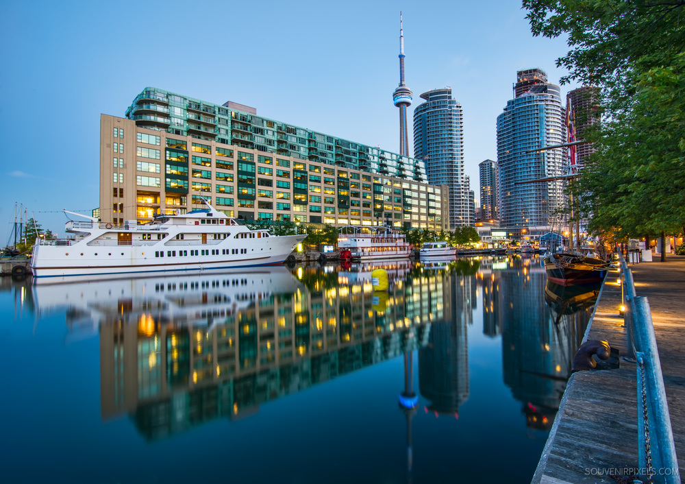 Ontario Modern Cities-P0706-Toronto Harbor Reflection-XLarge.jpg