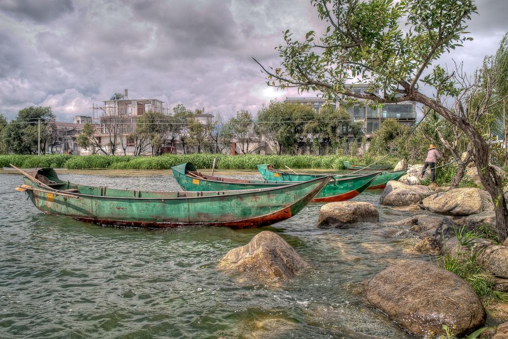 Erhai Lake Boats