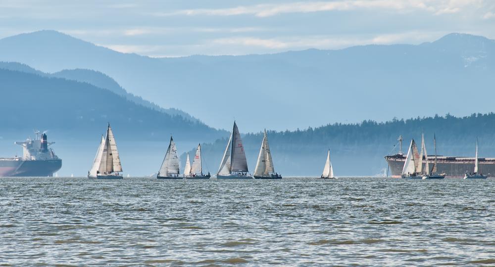 Burrard Inlet Sailing