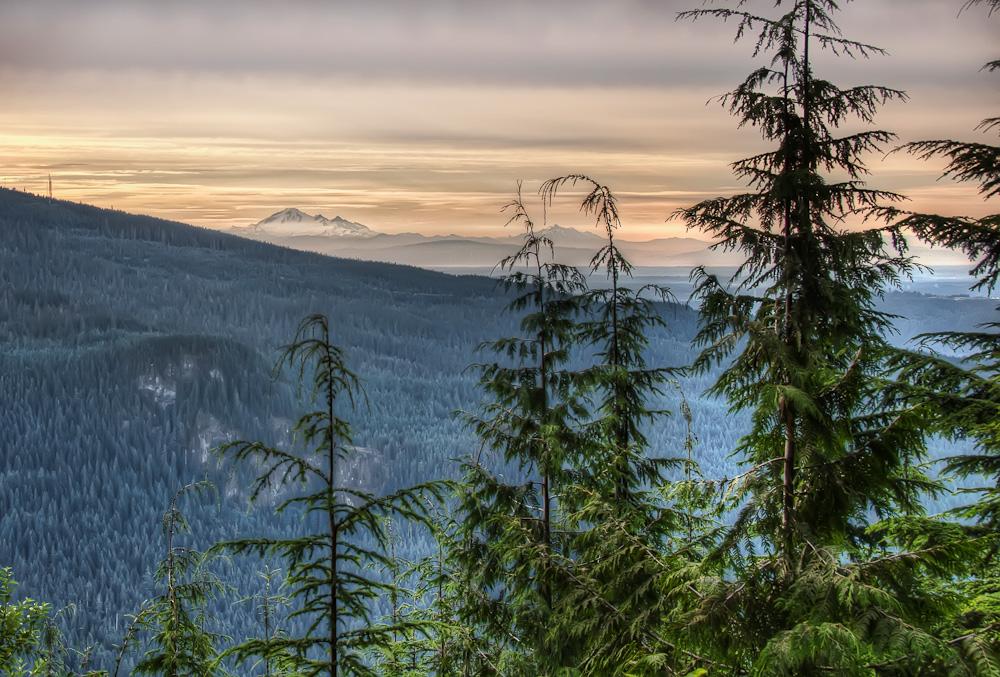 Distant Mount Baker