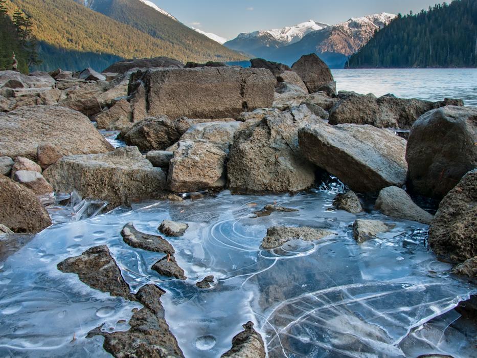 Cheakamus Lake Ice