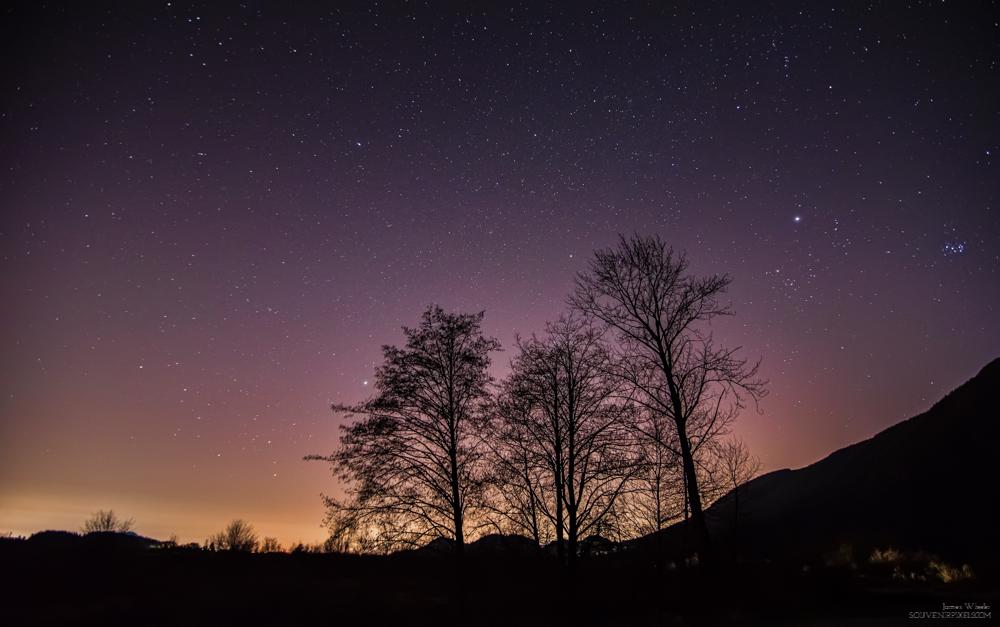 Coquitlam Light Pollution