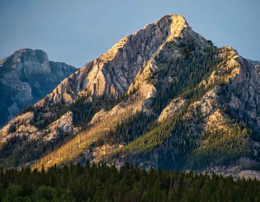 Yellow Mountain Top
