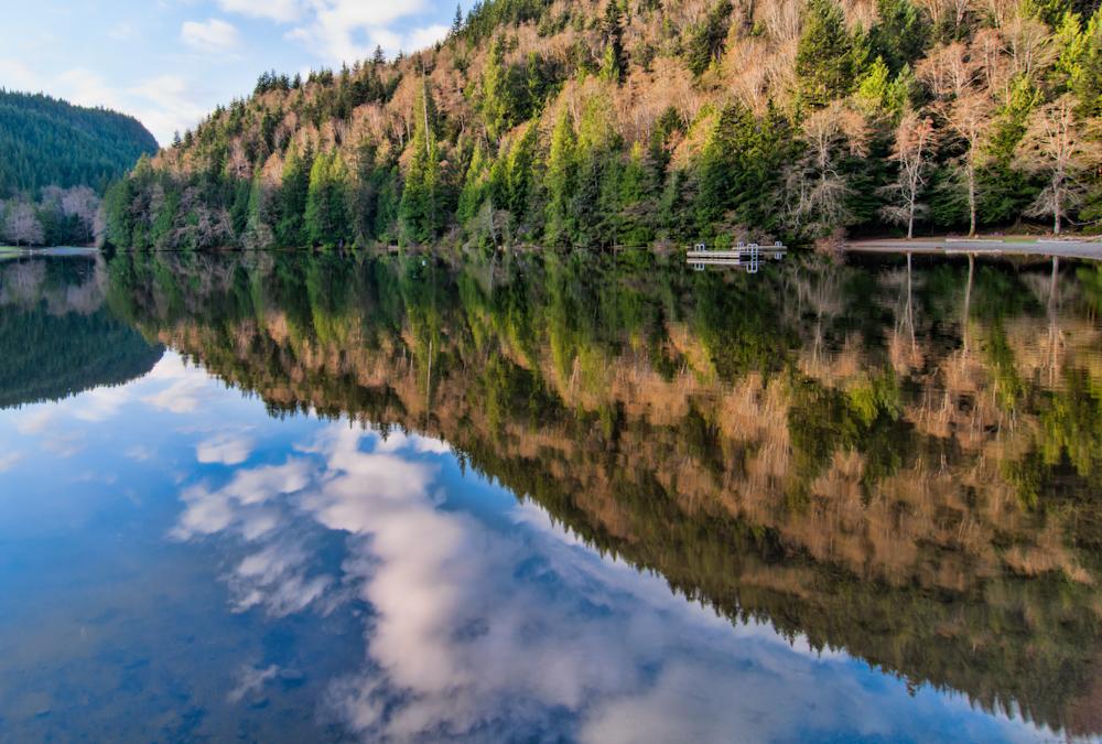 Alice Lake Reflection