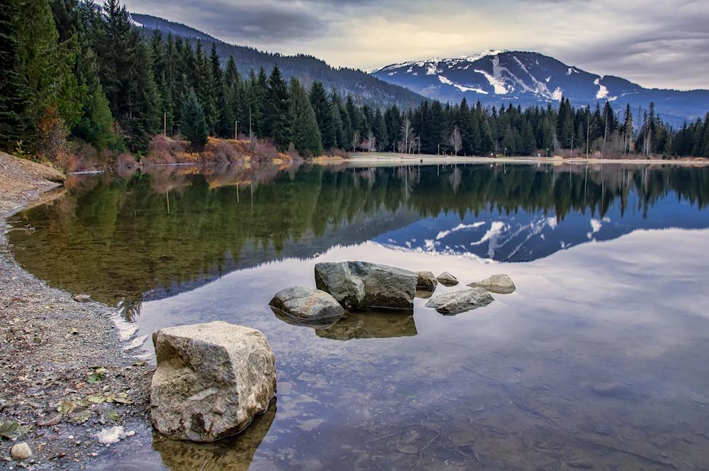 Whistler Mountain Reflection