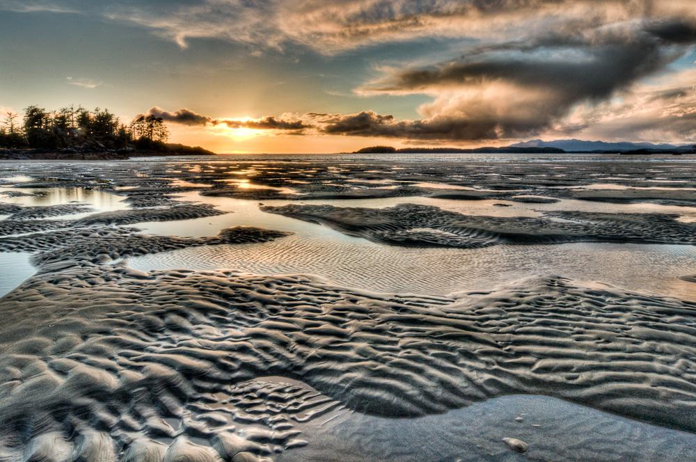 Swirly Cloud Beach