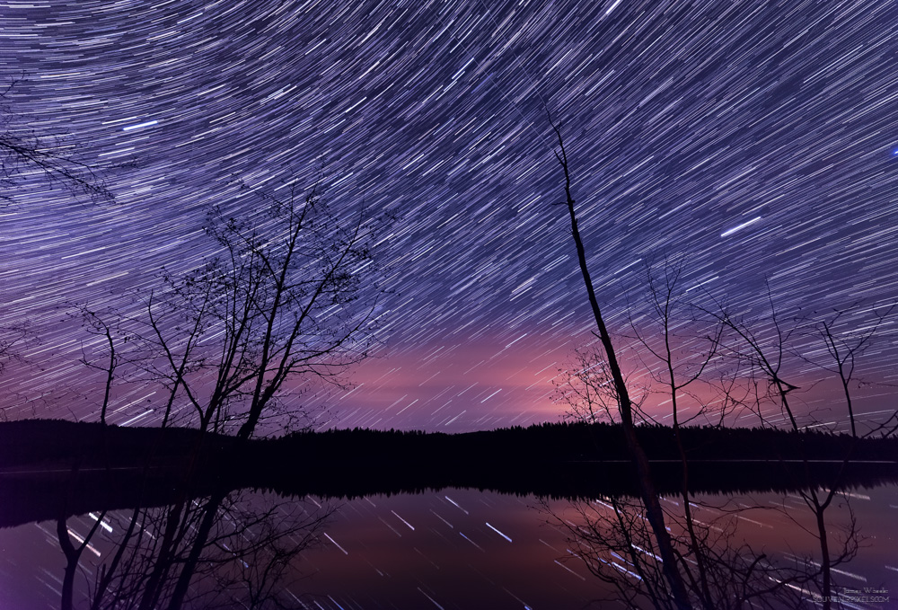 Many Star Trails