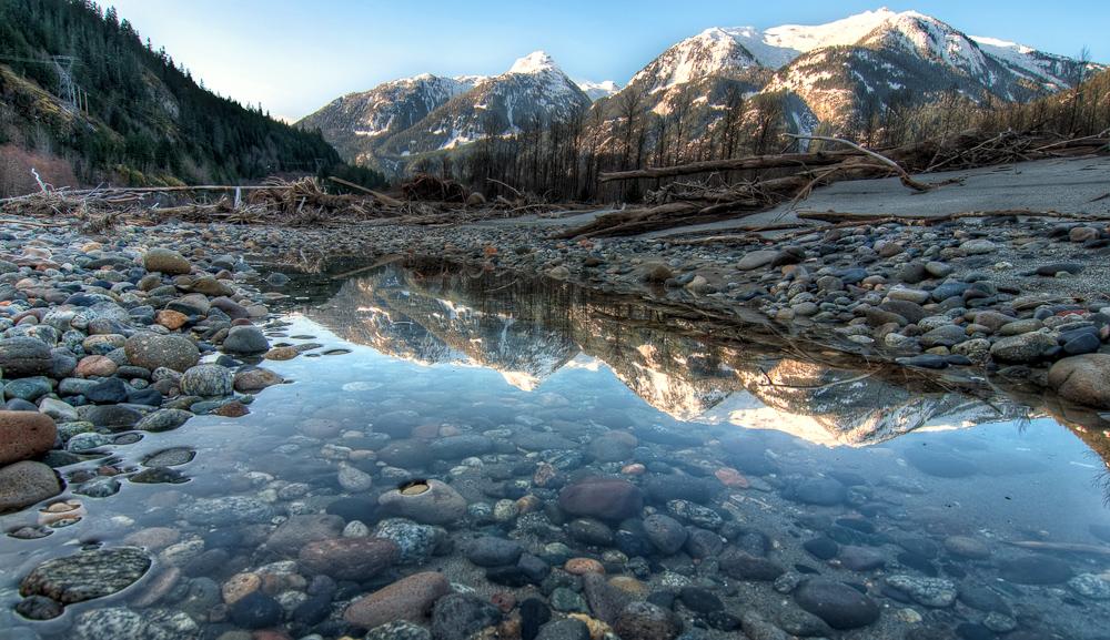 Mountain Reflection