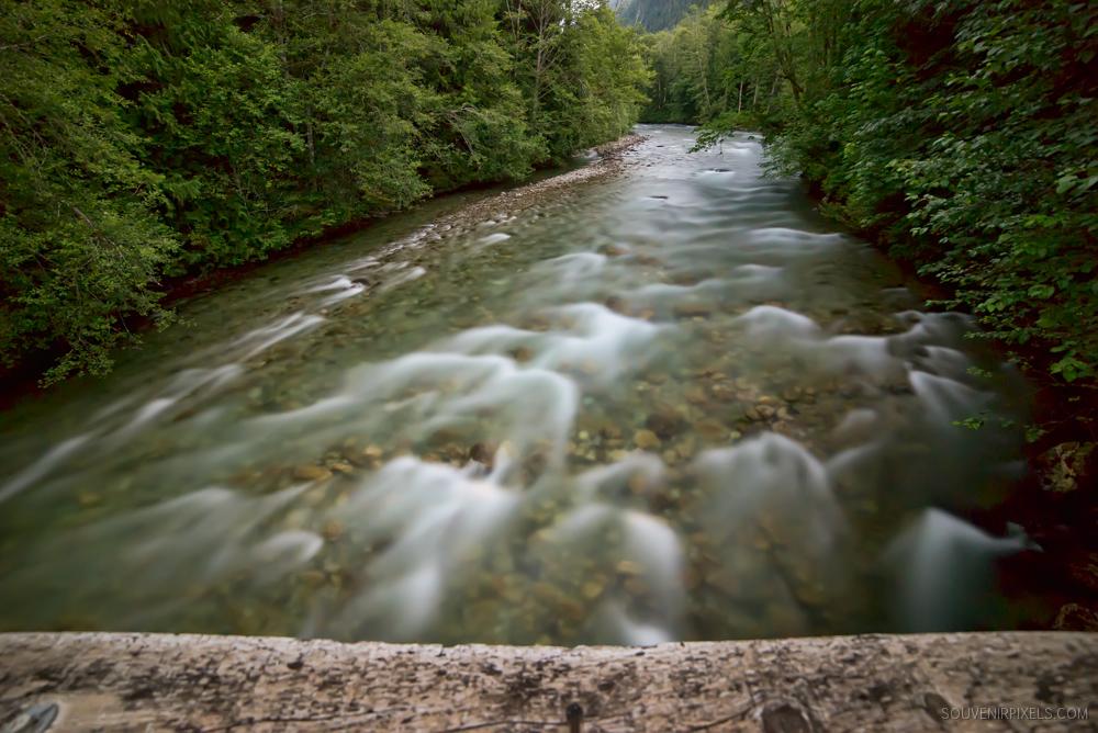 Bright Night River