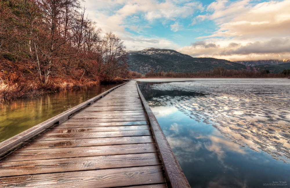 One Mile Lake Boardwalk