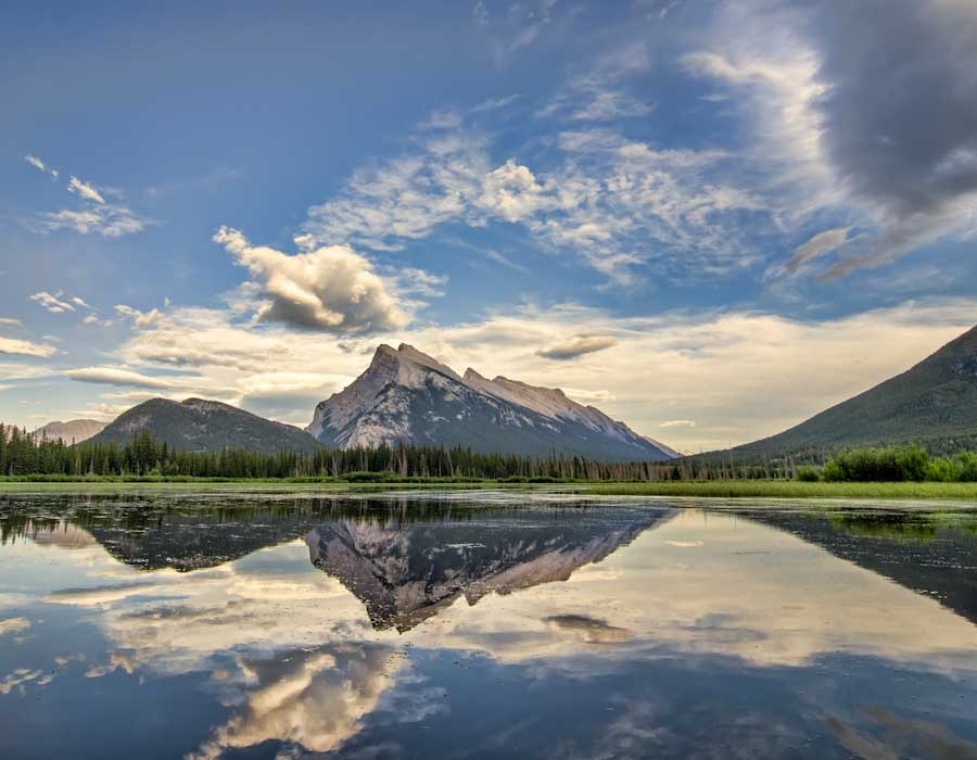 Vermilion Lakes Rerfect Reflection