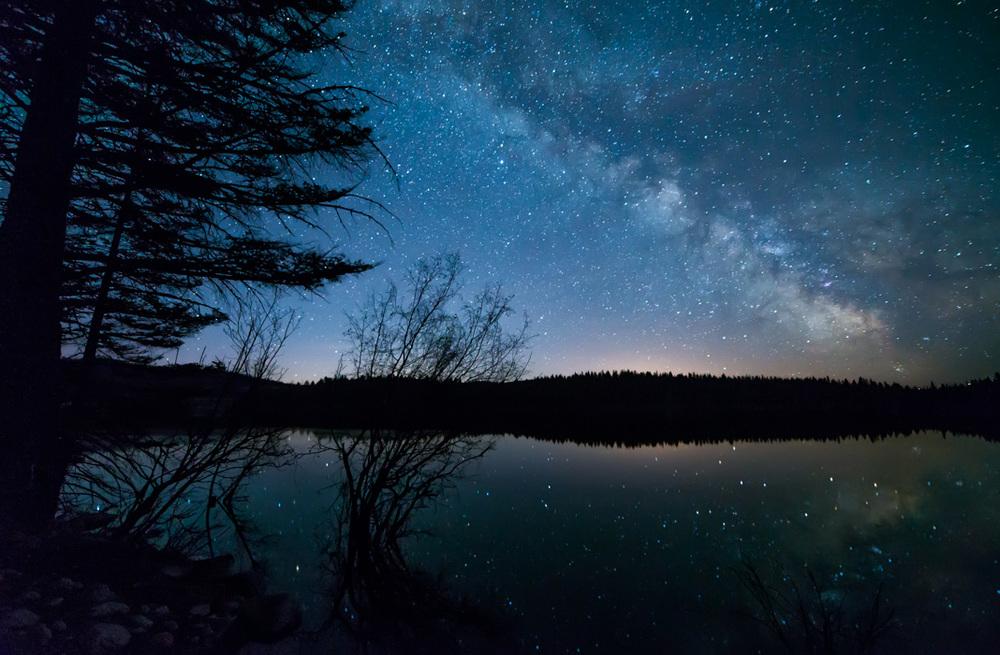 Lakeside Milky Way