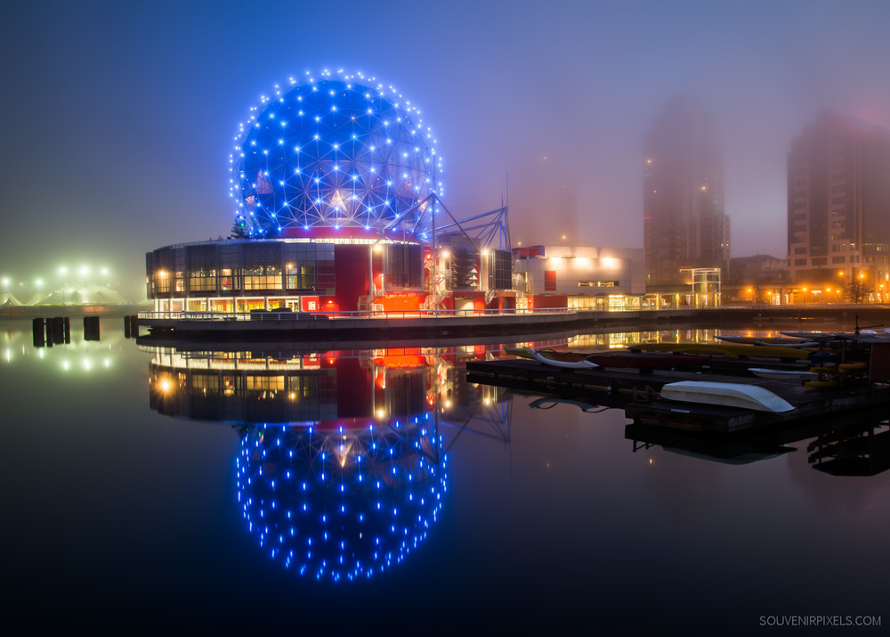 Foggy Science World