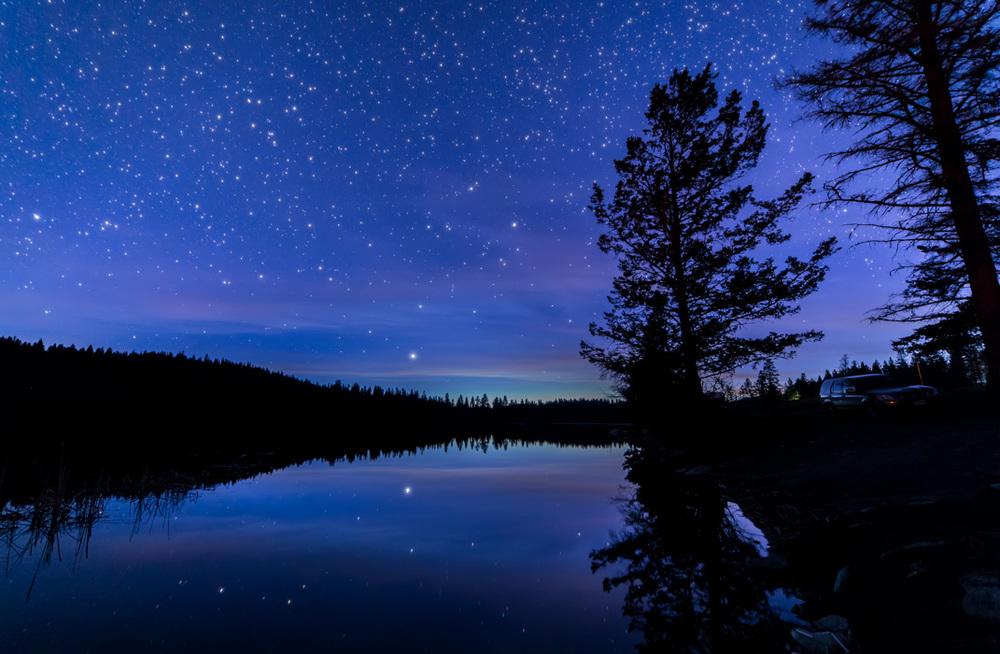 Quiet Lakeside Night