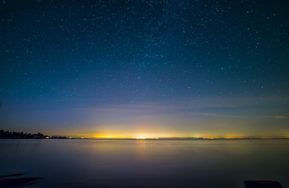 Faint Milky Way