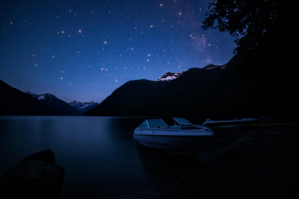 Chilliwack Lake Night