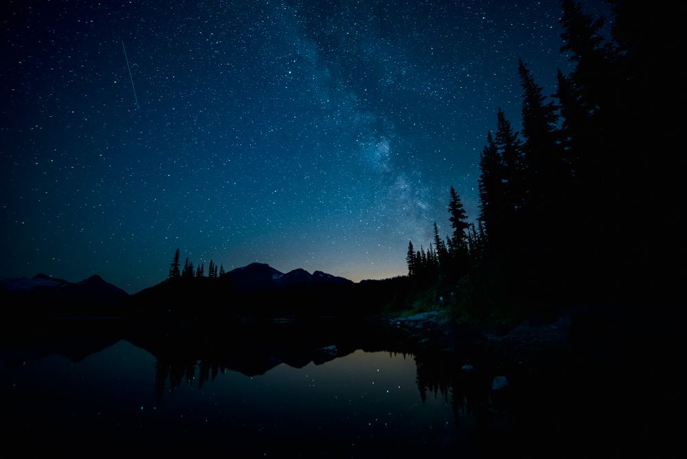 Garibaldi Lake Milky Way