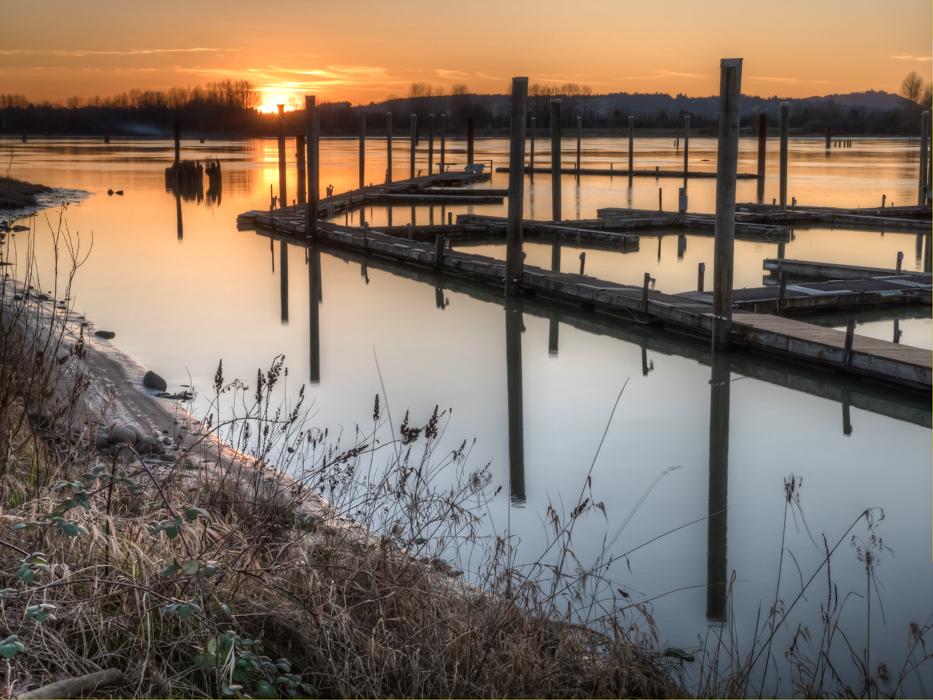 Pitt River Docks