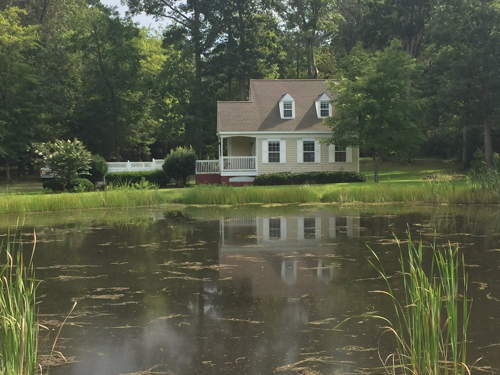 This is a one bedroom home, The Pond House.