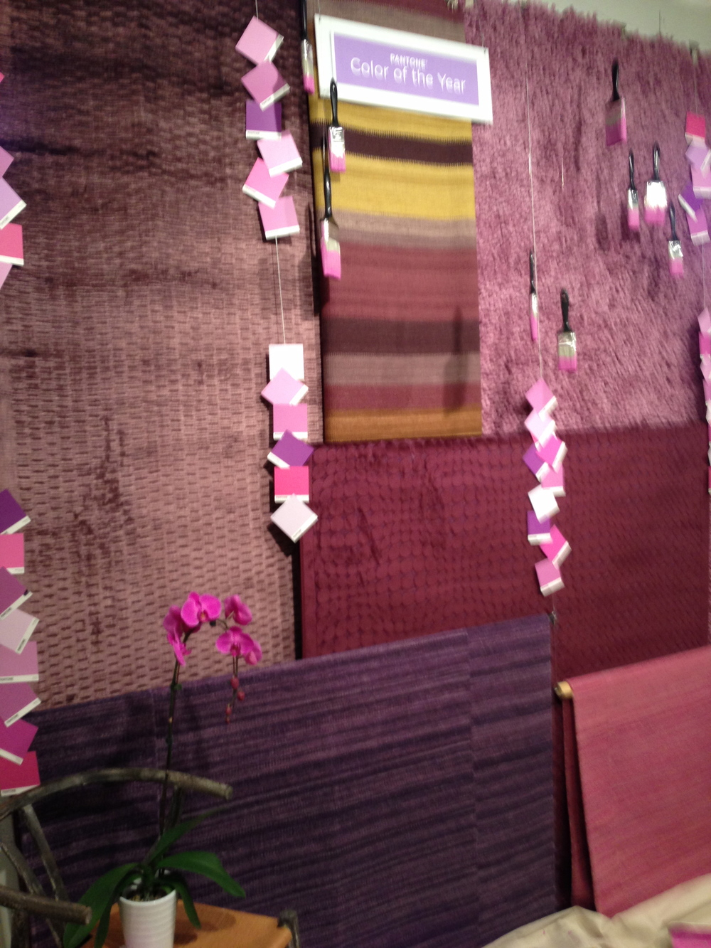 LoLoi Rugs featured the Pantone Color of the Year 2014 - Radiant Orchid
