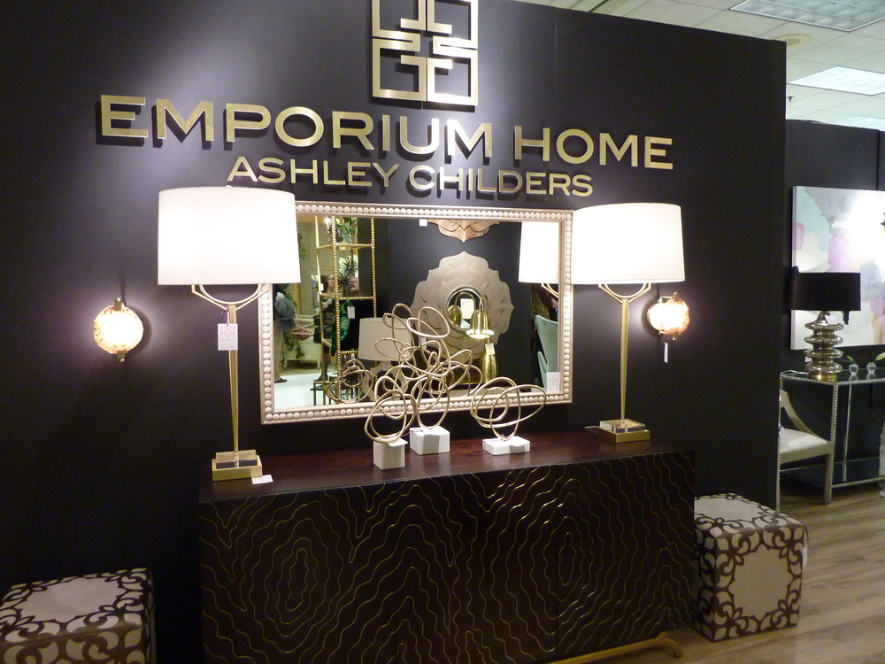 From the High Design Floor - Emporium Home in deep purple