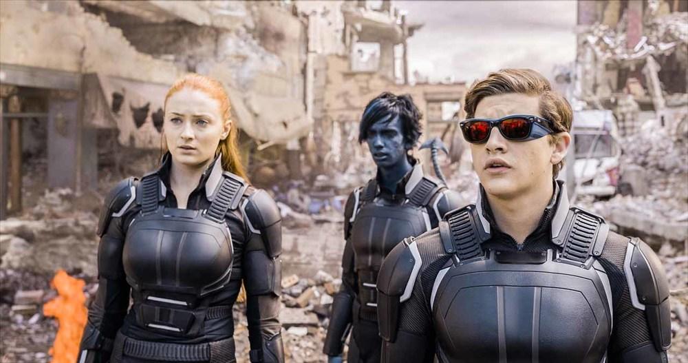 "Sophie Turner, Tye Sheridan, and Kodi Smit-McPhee in ""X-Men: Apocalypse"""