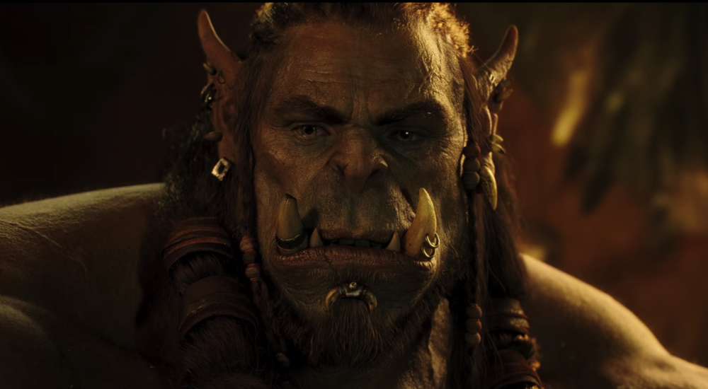 "Toby Kebbell as Durotan in ""Warcraft"""