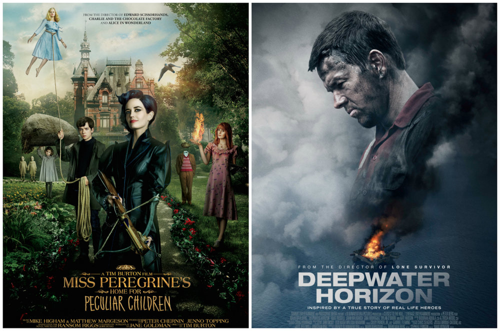 Miss Peregrine's Home for Peculiar Children and Deepwater Horizon