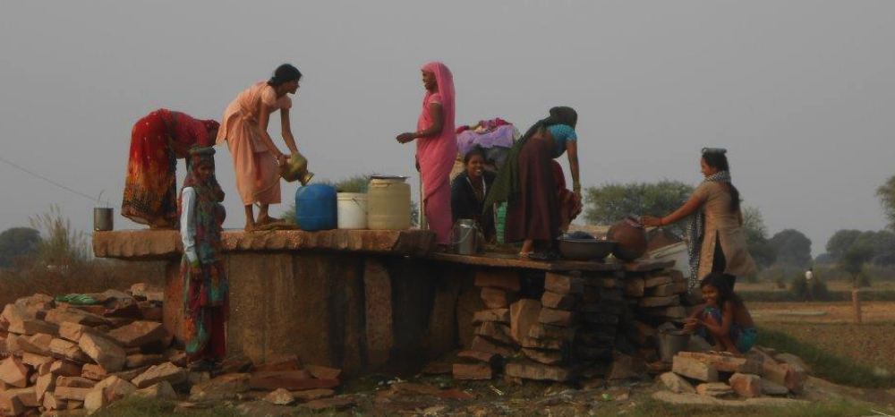 A O'Connor women at the well.jpg