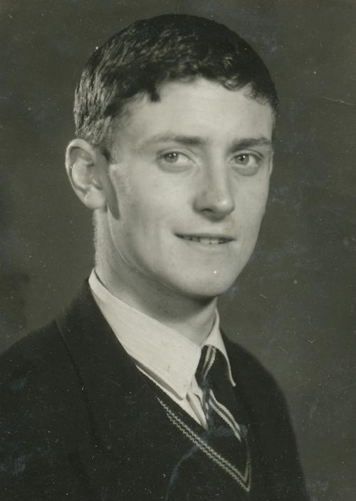 Brian Millane, Form V, 1960