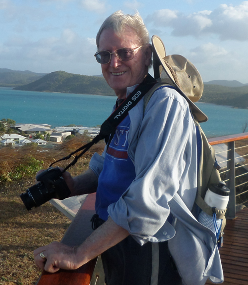 Brian Millane holidaying on Thursday Island recently