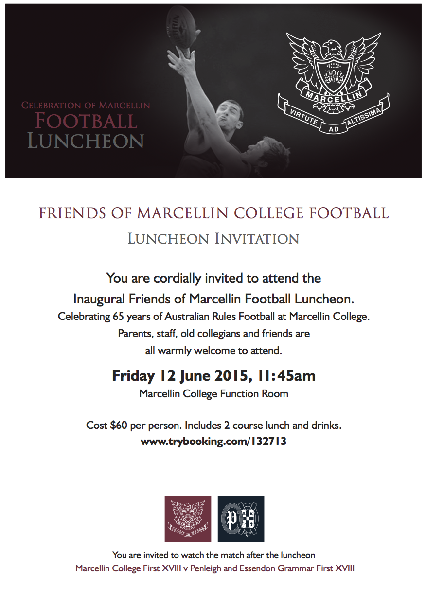 Football Luncheon Flyer