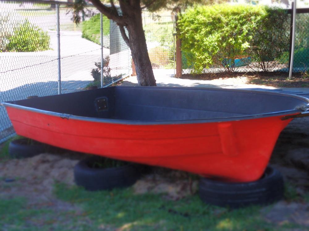 Seaview Kindergarten's boat