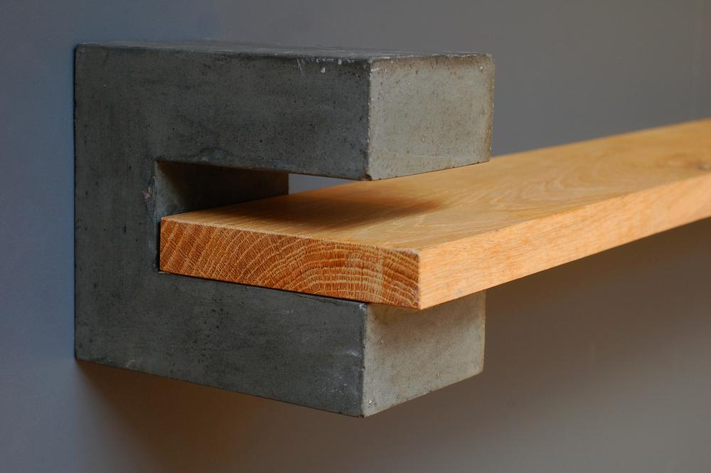 Precast Concrete Brackets : Concrete shelf brackets — sue pryke