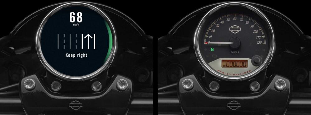Harley Davidson interfaces