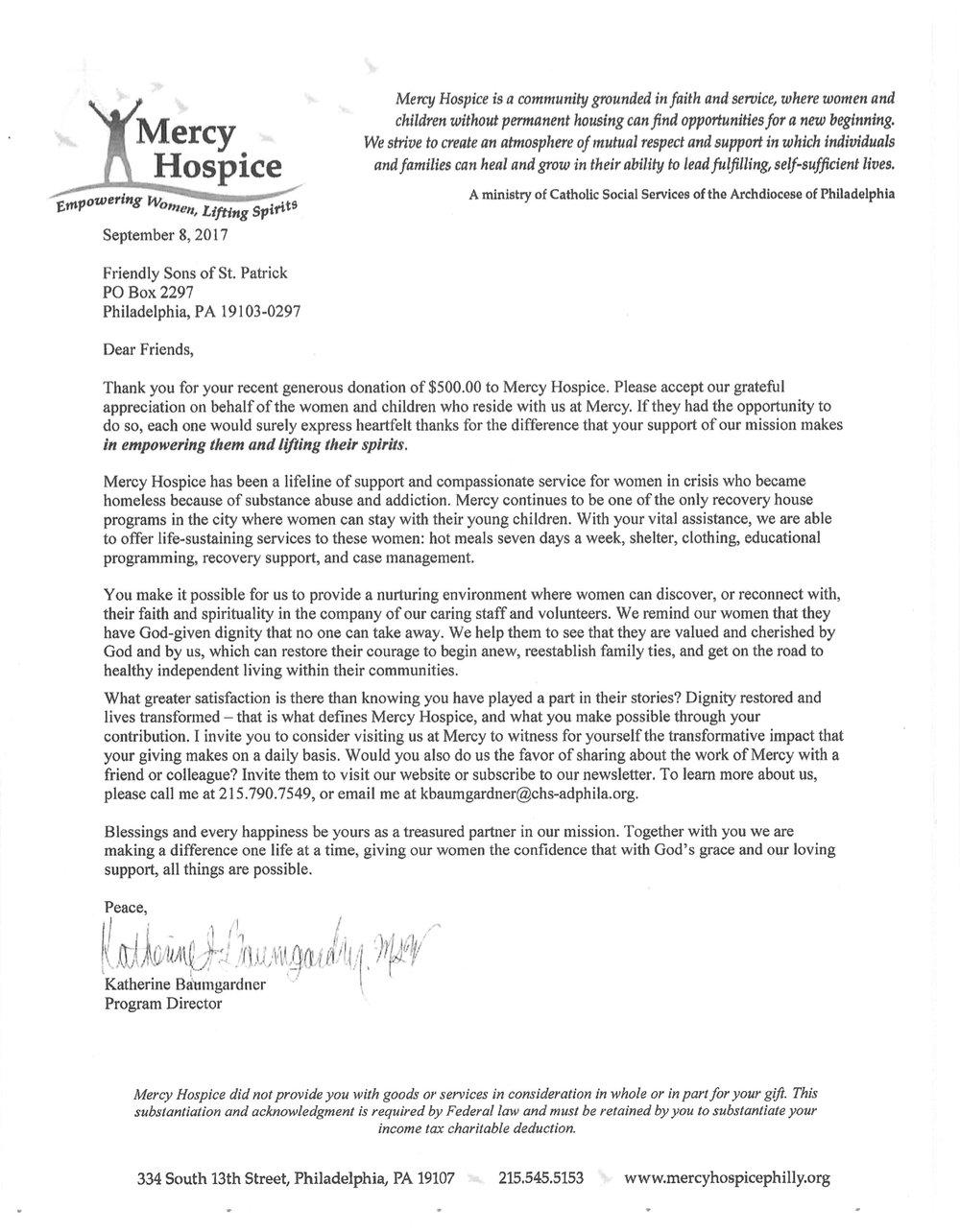 FSSP letters of Appreciation 9-20-7-Mercy.jpg