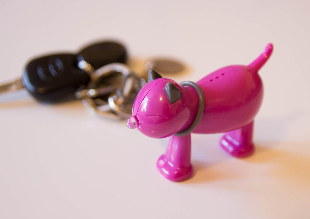 A cute cat keyring that meows when you clap your hands - I have had to switch it off as I have found it randomly meows when its in my bag and I get strange looks from people. Okay I didnt really need this one!
