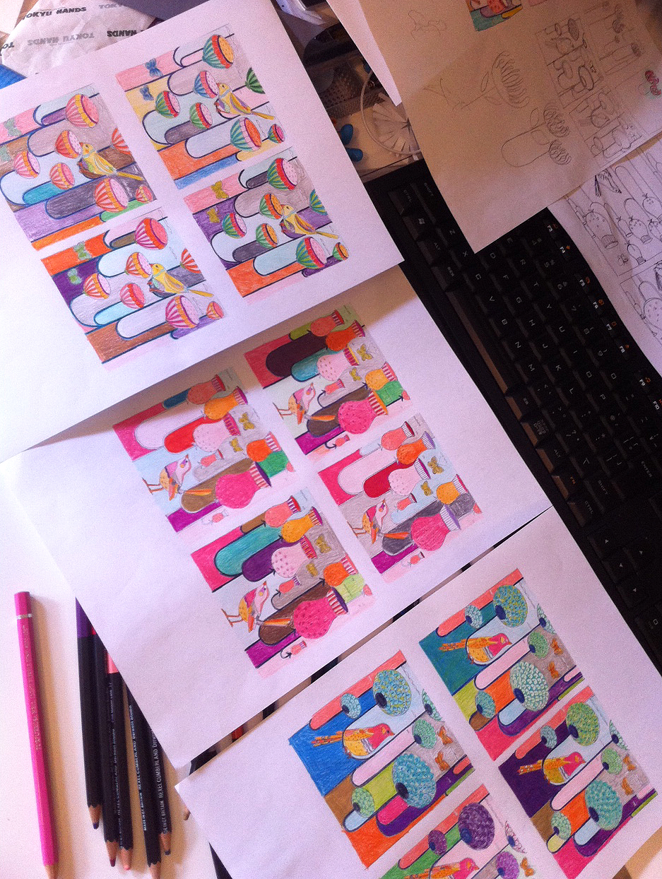 colour roughs
