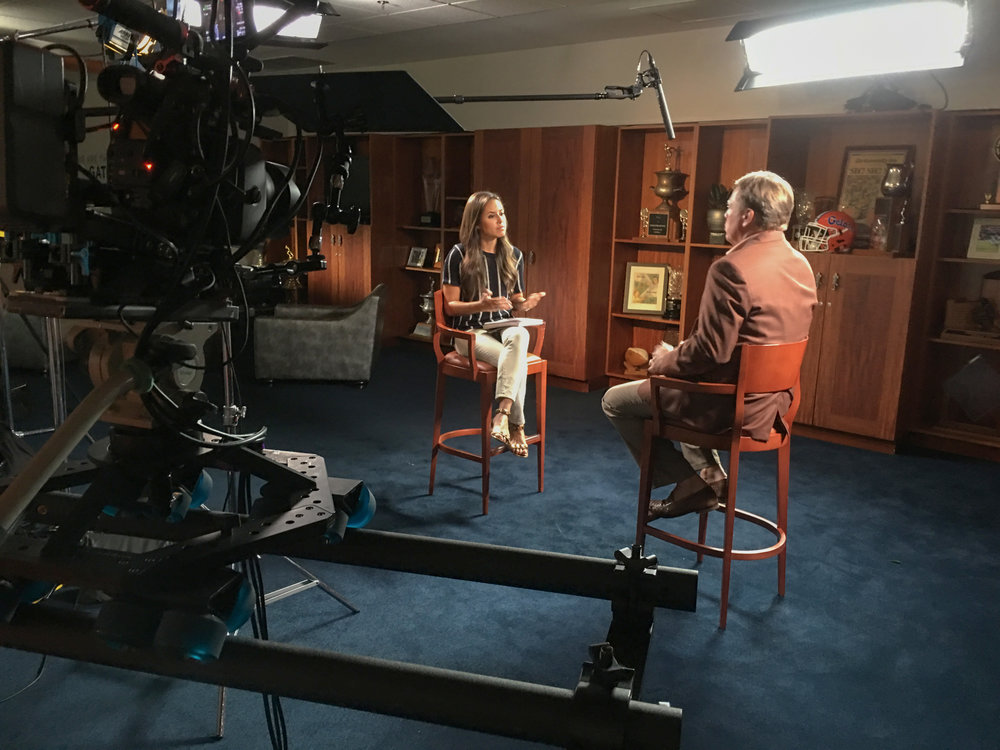 Two cameras interviews